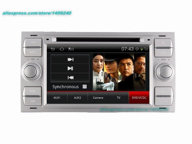 Ford Focus Için 2005 ~ 2007-Araba Android GPS Navigasyon Radyo TV DVD Oynatıcı Ses Video Stereo Multimedya sistemi